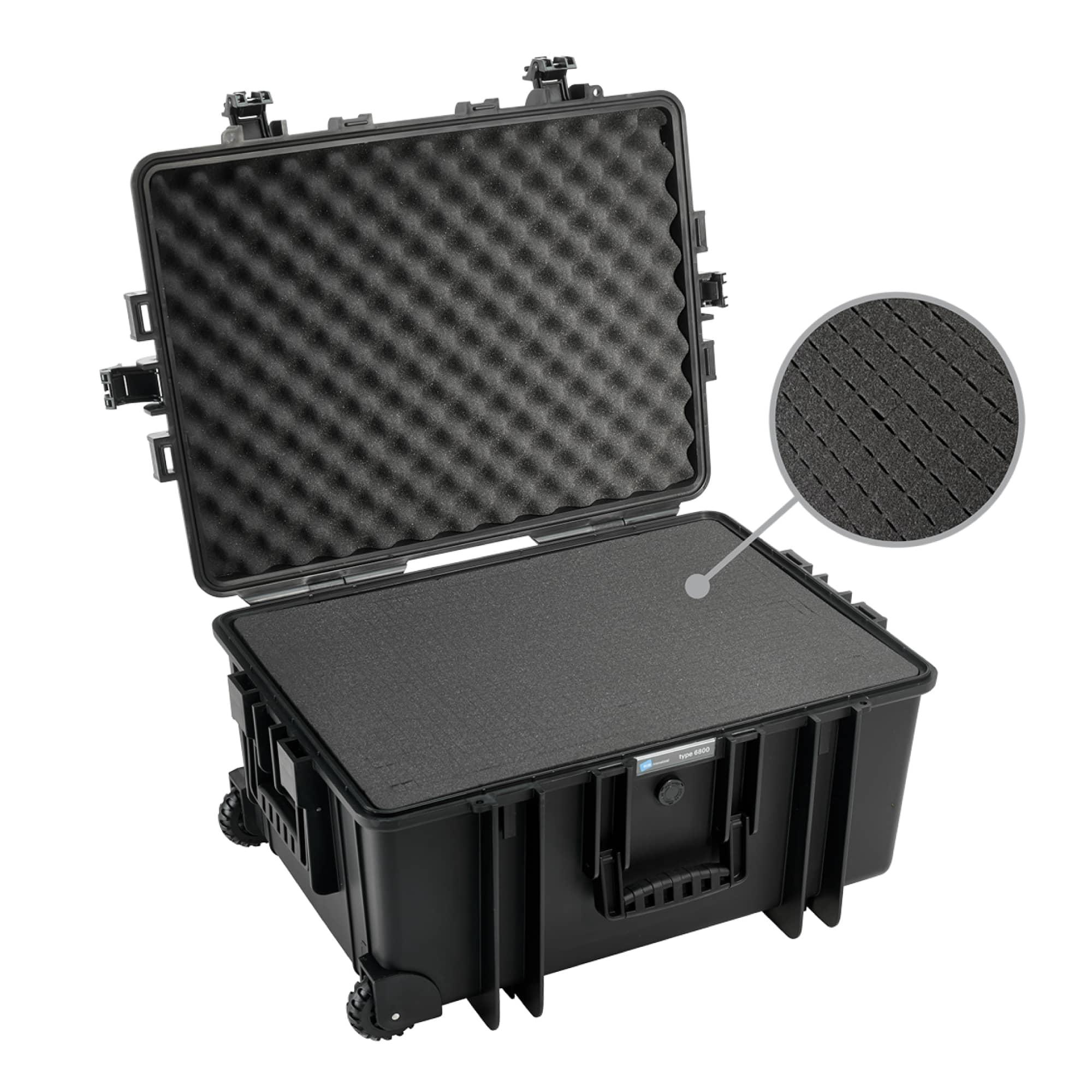 B&W Outdoor Case Typ 6800 mit Würfelschaum (SI)