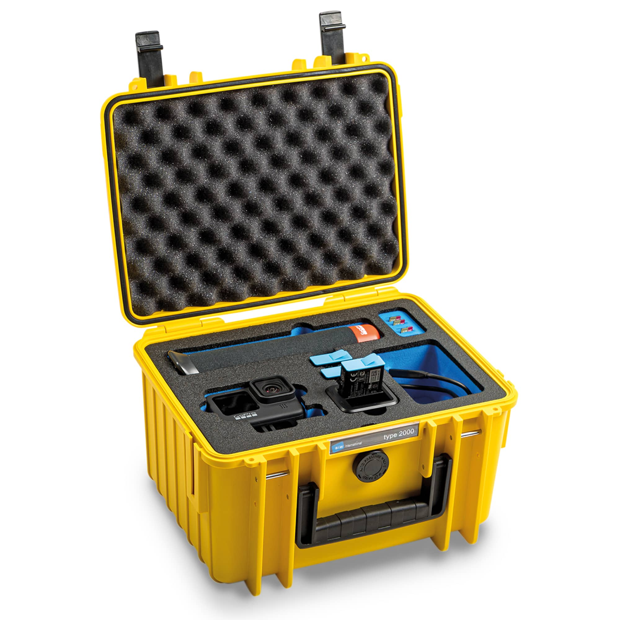 B&W Special Case Typ 2000 with 3D foam for GoPro 9 and 10 | Transport.case