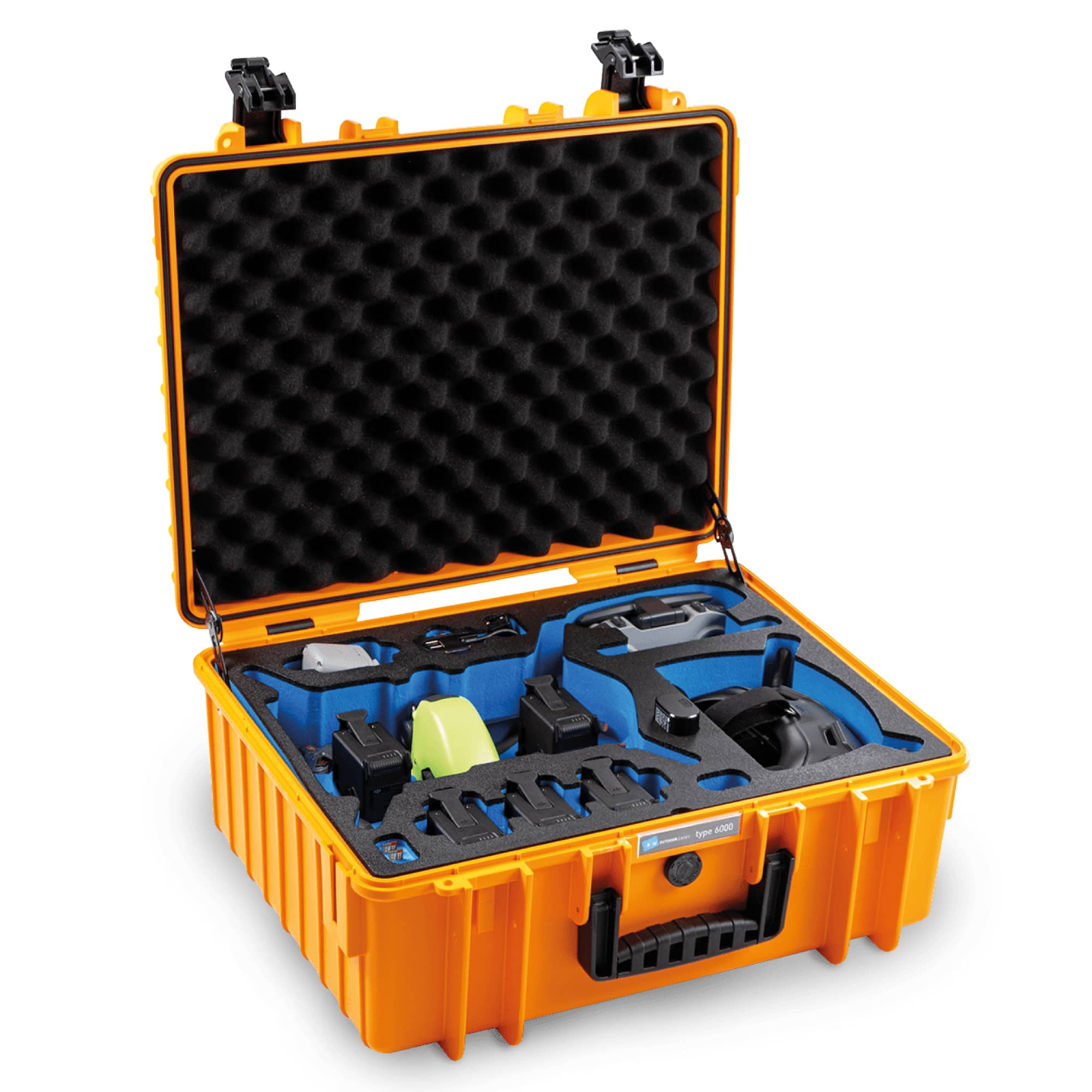 B&W Outdoor Case Typ 6000 with 3D foam for DJI FPV Combo | LIMITED EDITION