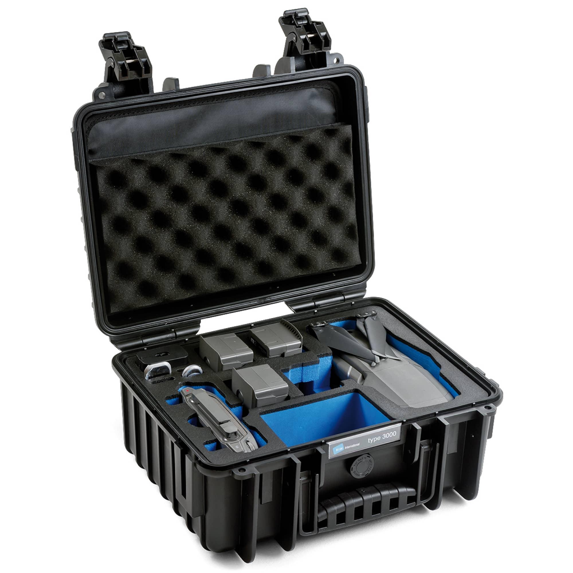 B&W Special Case Typ 3000 with 3D foam for DJI Mavic 2