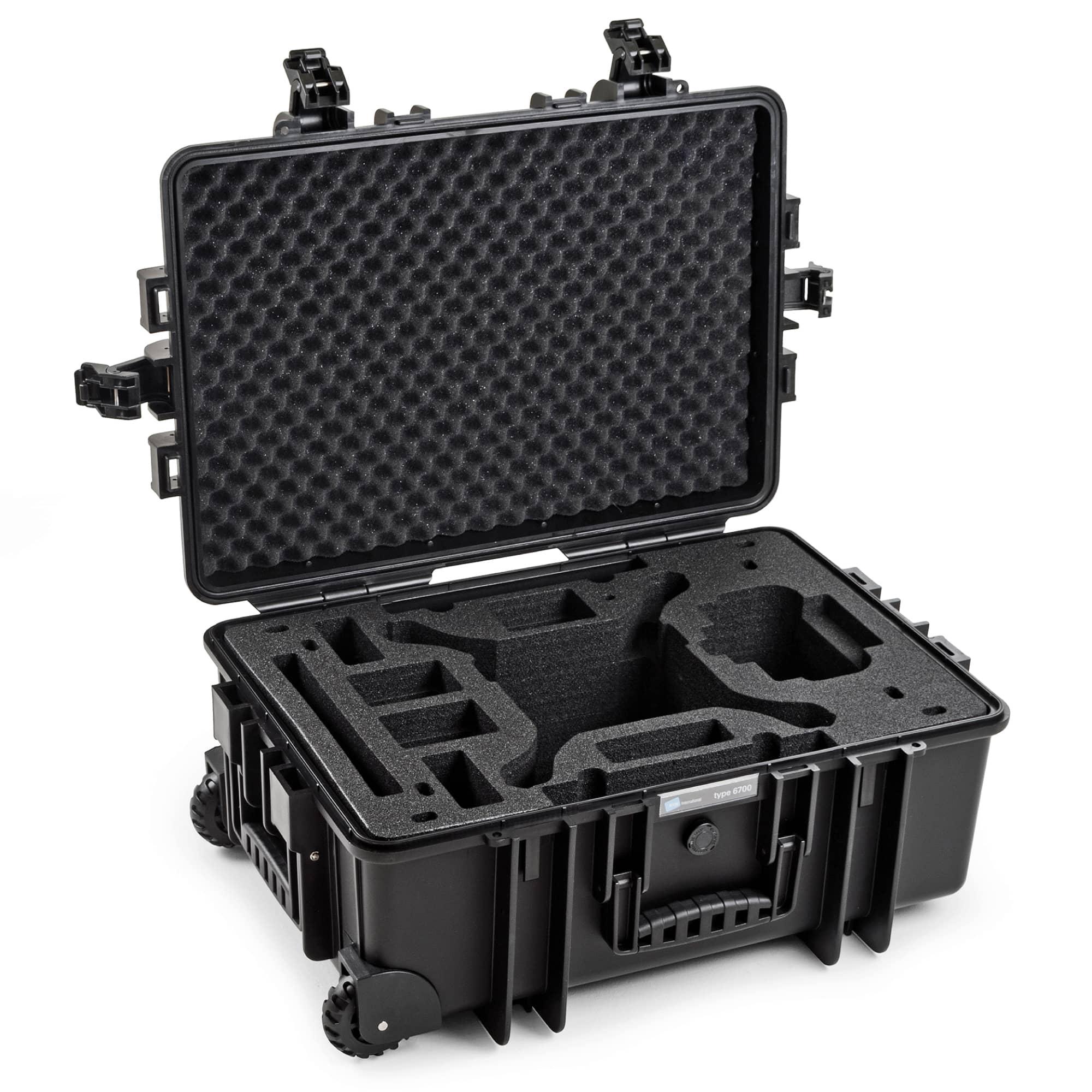 DJI Phantom  4 / 4 Pro / 4 Pro Plus / 4 advanced / 4 Obsidian | B&W Outdoor Case Typ 6700