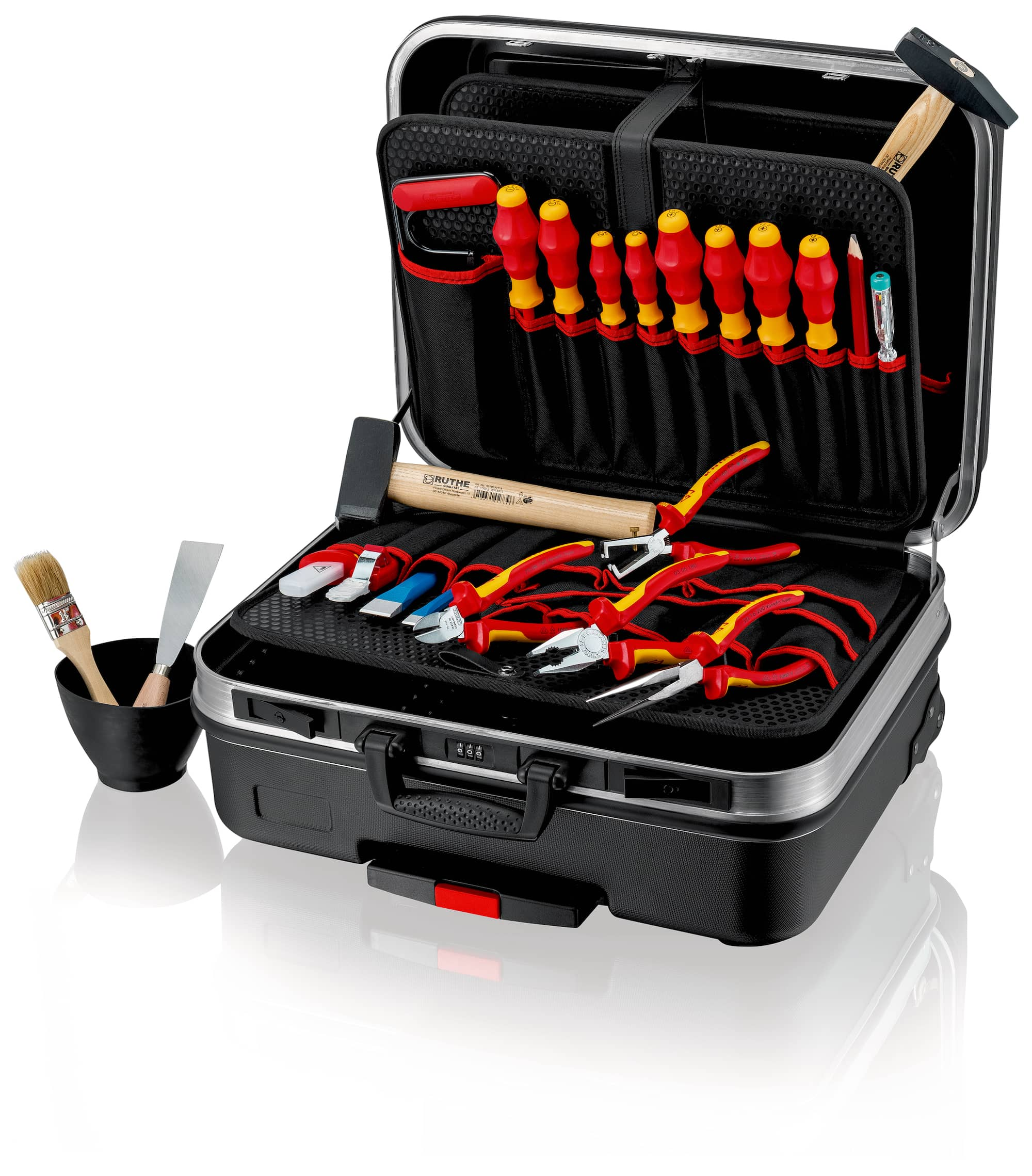 "Knipex Werkzeugkoffer ""BIG Basic Move"" Elektro"