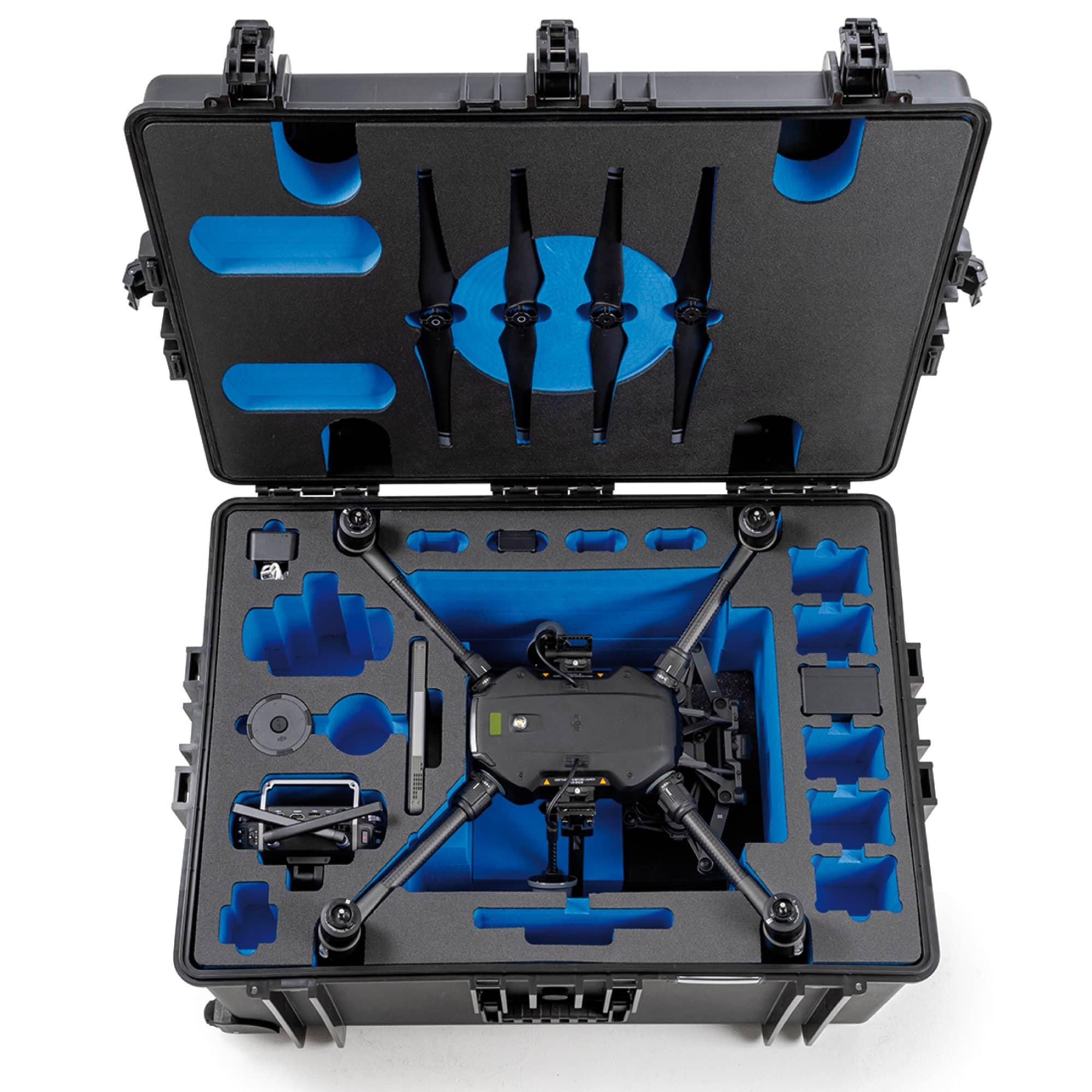 B&W Special Case Typ 7800 mit 3D-Schaum für DJI Matrice 200/ 210/ 210 RTK