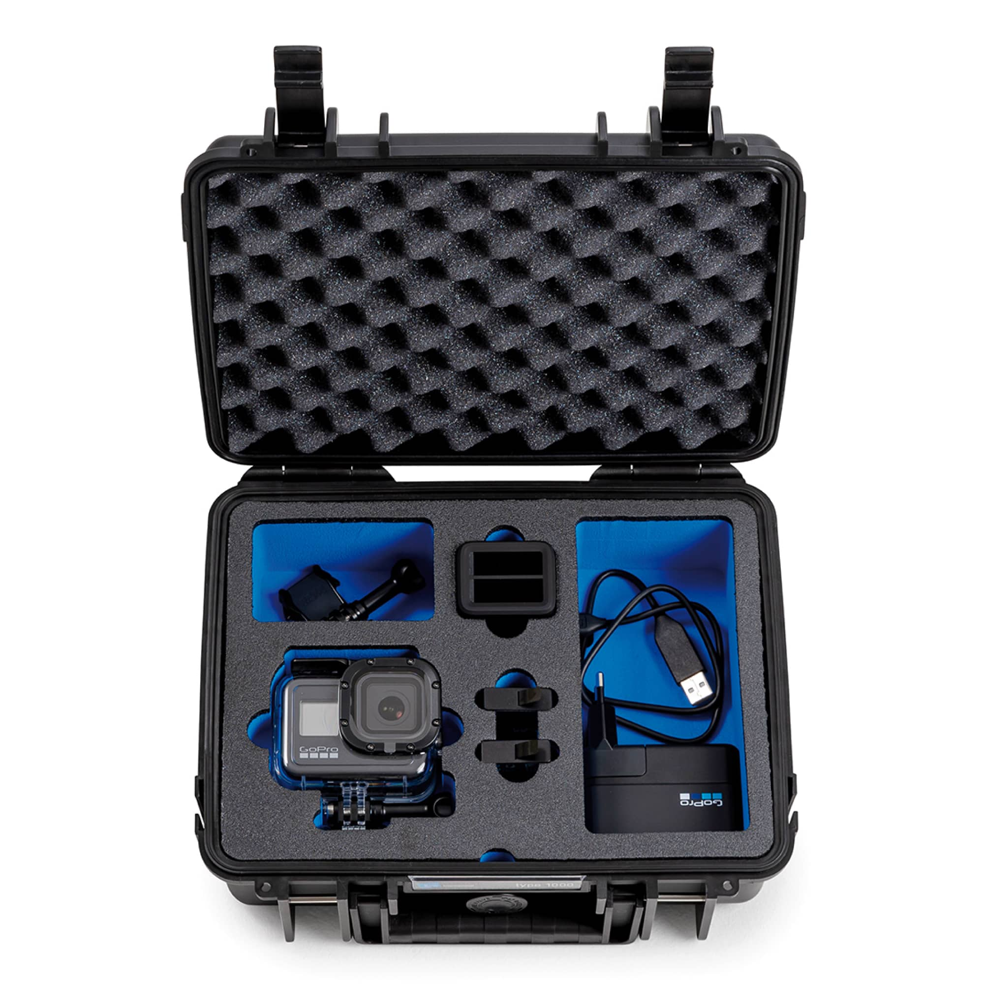 B&W Special Case Typ 2000 with 3D-Schaum for GoPro 8