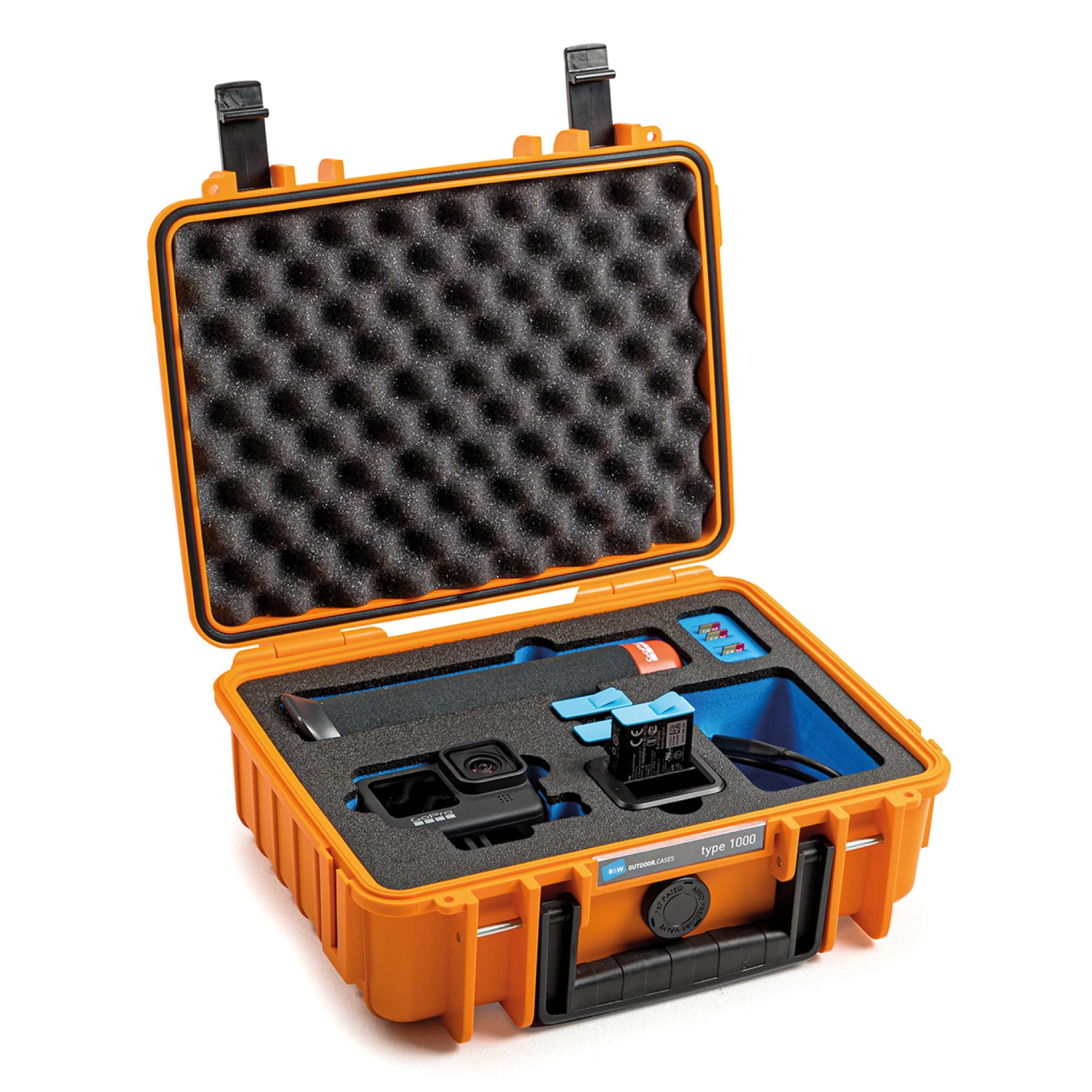 B&W Special Case Tye 1000 with 3D foam for GoPro 9 and 10