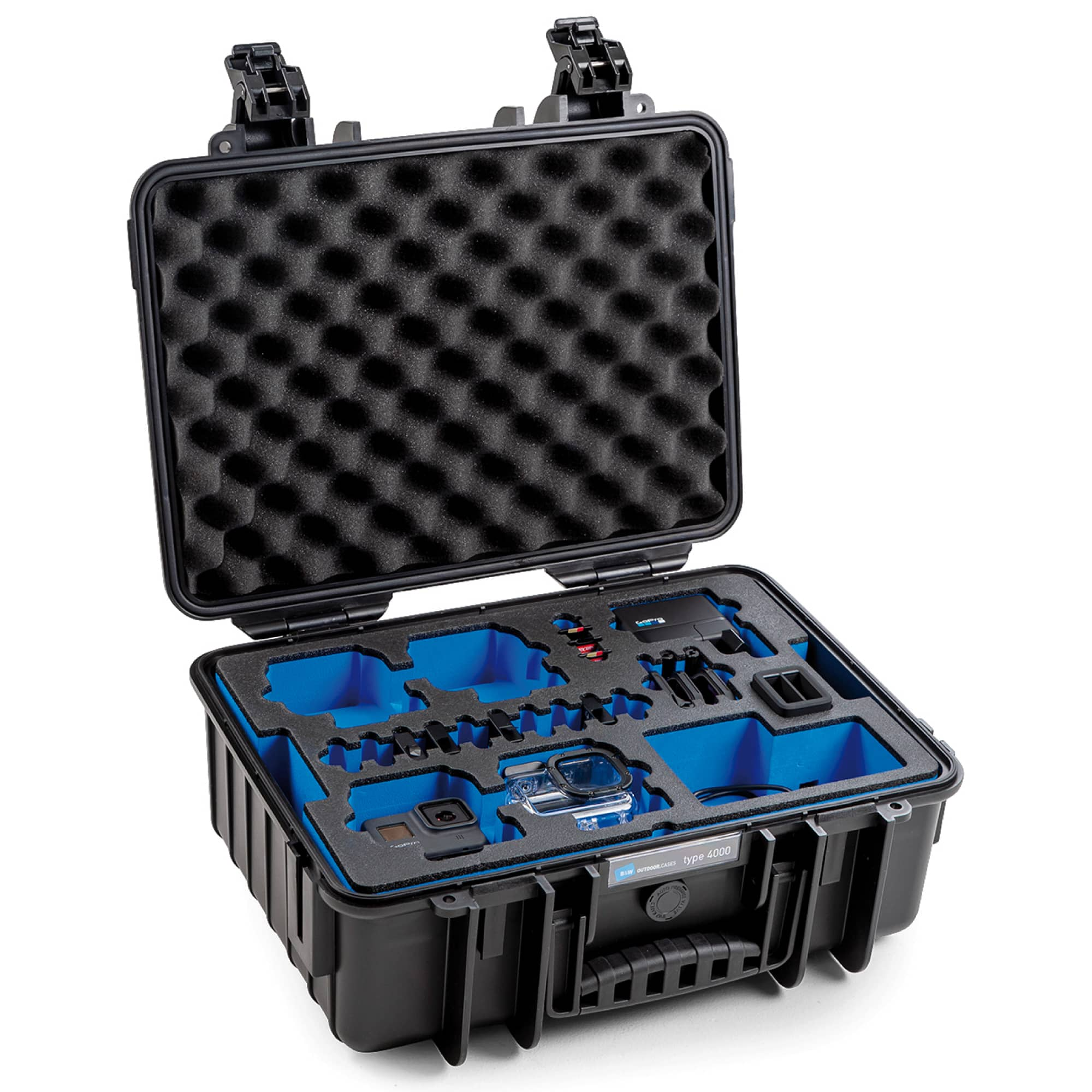 B&W Special Case Typ 4000 with 3D foam for GoPro 8